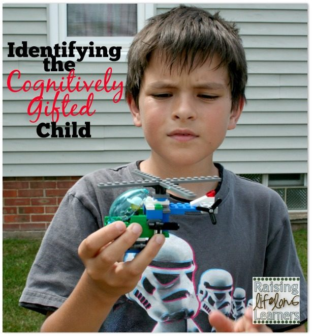 Identifying the Cognitively Gifted Child via www.RaisingLifleongLearners.com