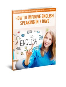 How to Improve English Speaking in 7 Days